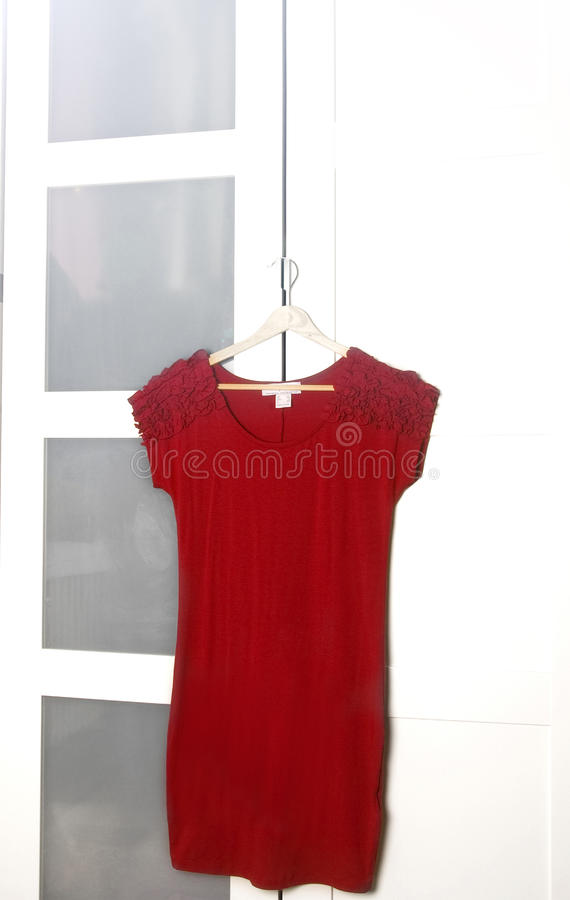 Download Red dress stock image. Image of elegance, cotton, classic - 22978495