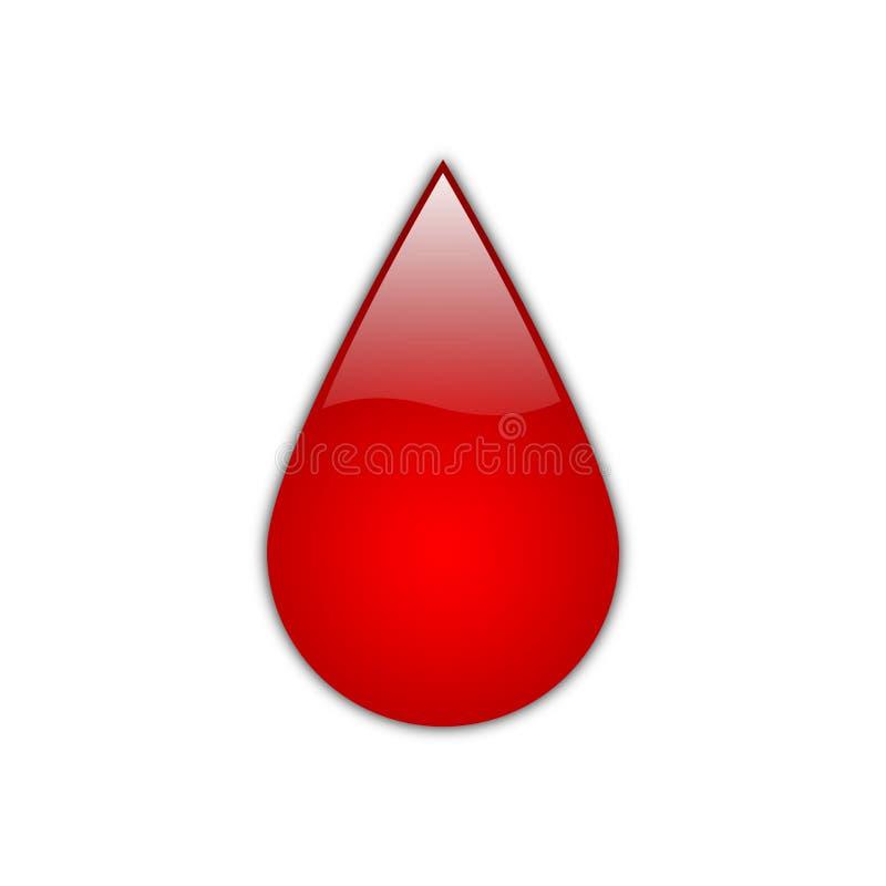 Red Drop [01] royalty free stock photos
