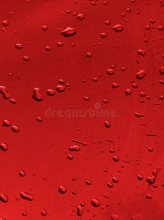 Red Drops Background stock images