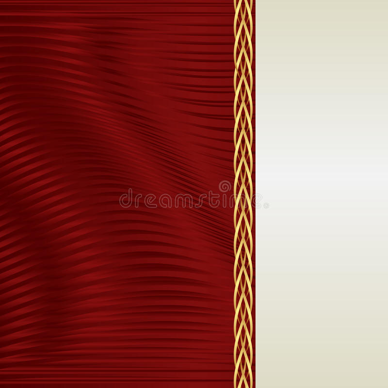 Red And Ecru Background Royalty Free Stock Photos