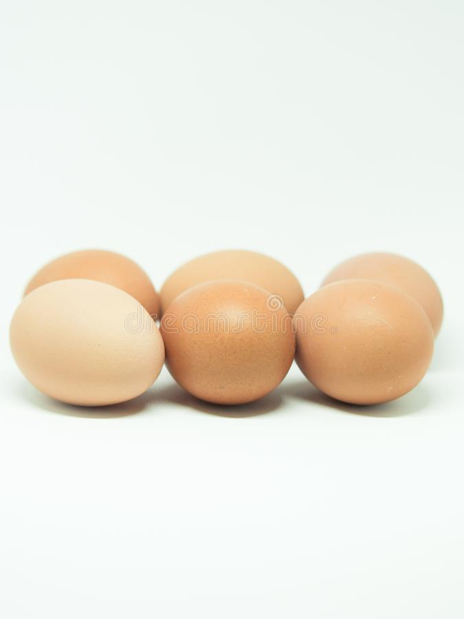 Red eggs. Photography of red eggs on white background royalty free stock image