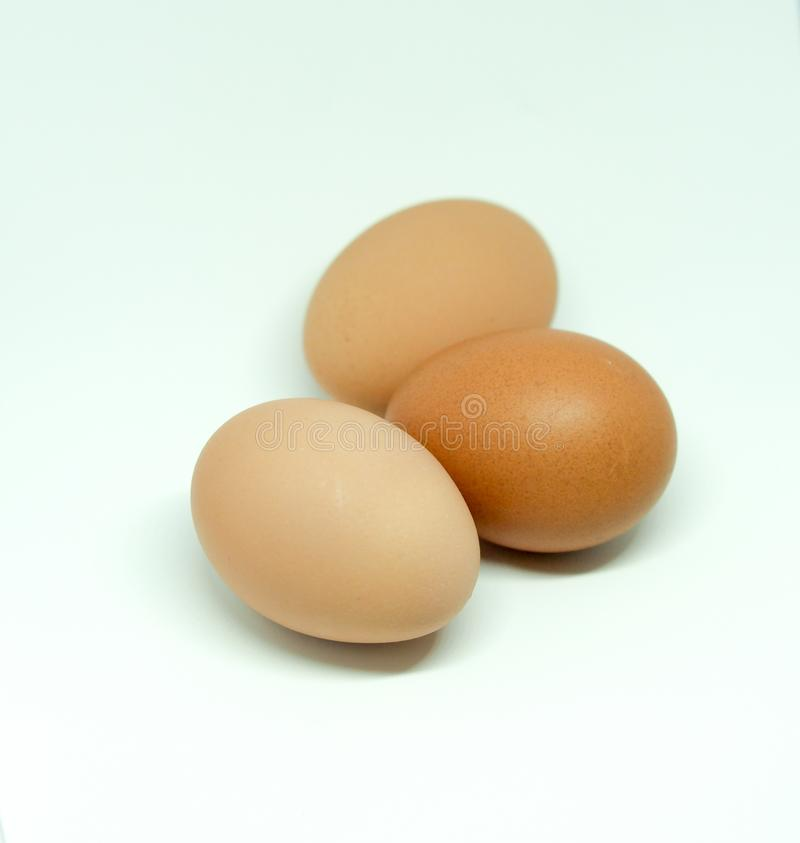 Red eggs. Photography of red eggs on white background stock photos