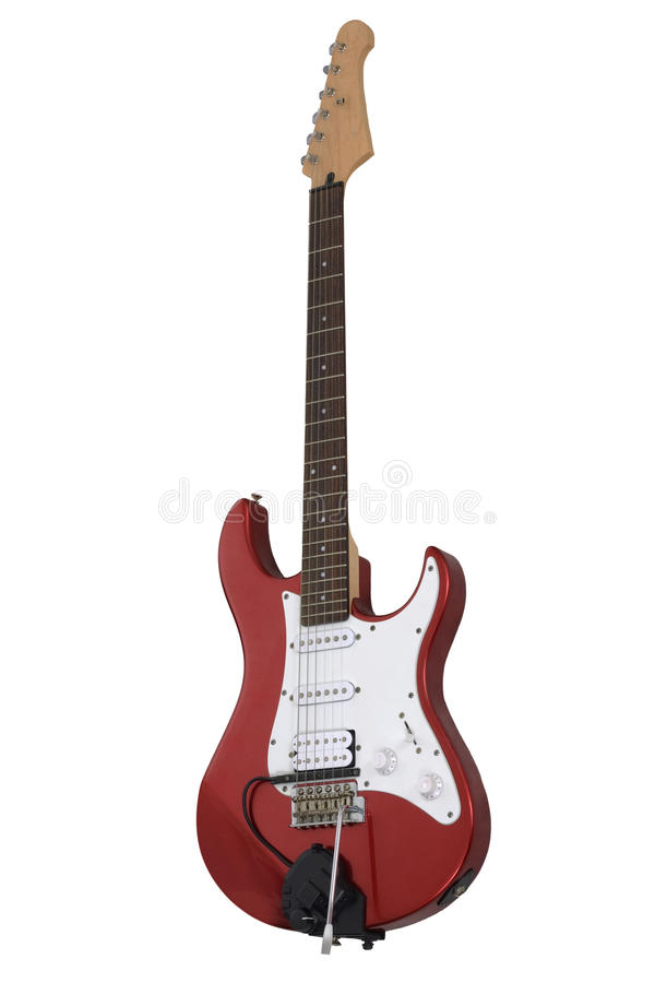 Free Red Electric Guitar Royalty Free Stock Image - 13575906