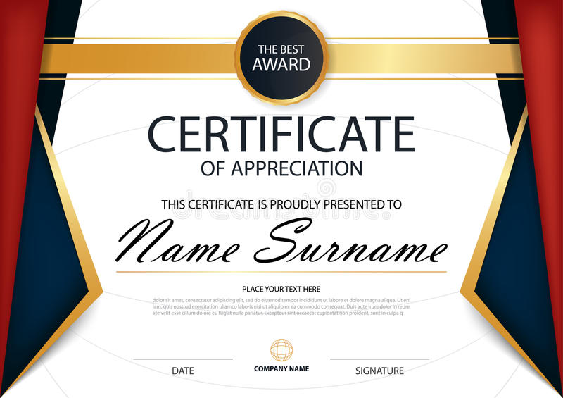 white certificate frame