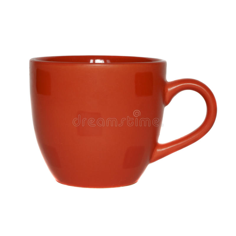 Red empty cup stock images