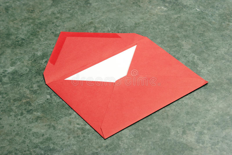 Red Envelope Stock Photography