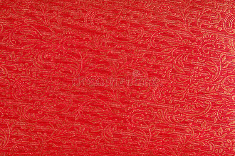 Download Red Ethnic Fabric Design stock image. Image of golden - 25549219