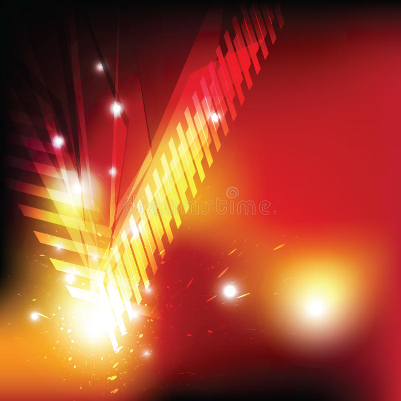 Free Red Explosion Abstract Design Royalty Free Stock Image - 26232576