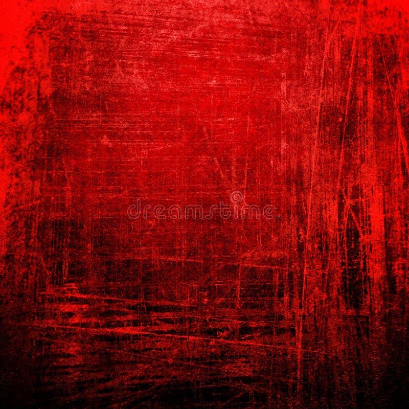 red för bakgrundsgrungemålarfärg stock illustrationer