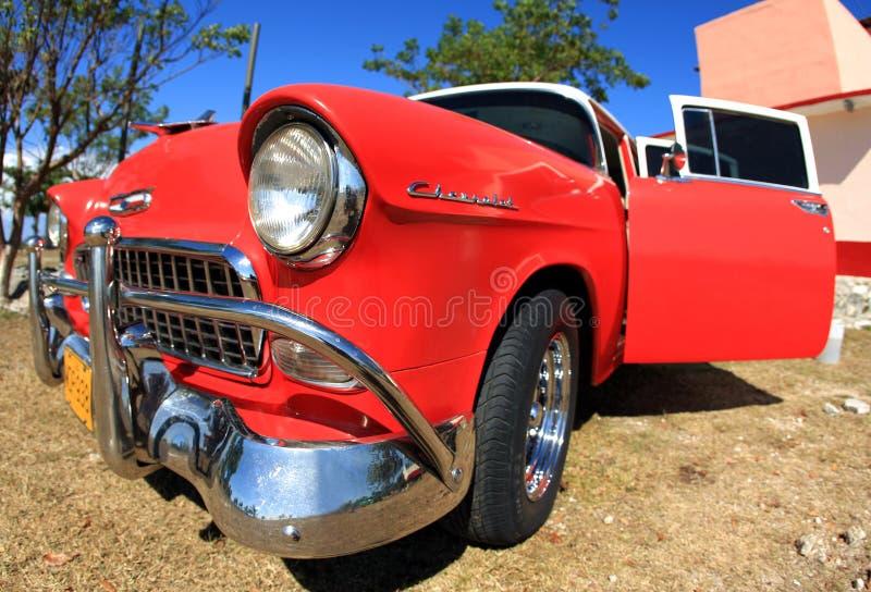 red för klassisk färg för bil gammal royaltyfri foto