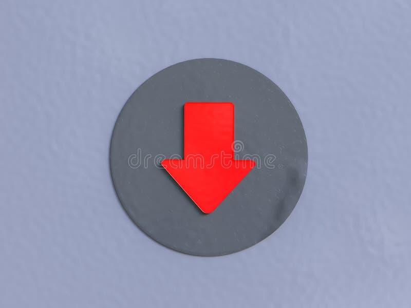 red f?r pilbakgrundstrottoar vektor illustrationer