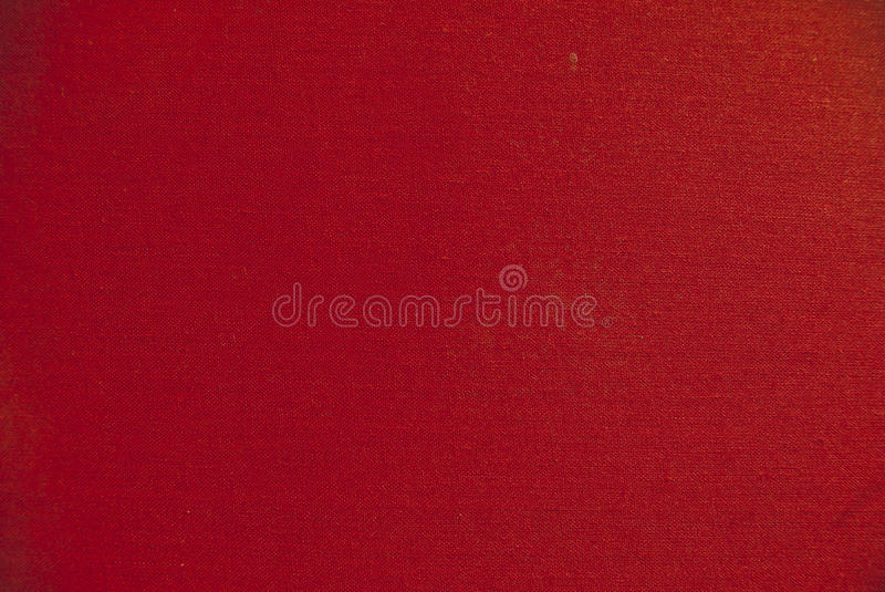 Red fabric. Blank red fabric texture for backgorunds stock photo