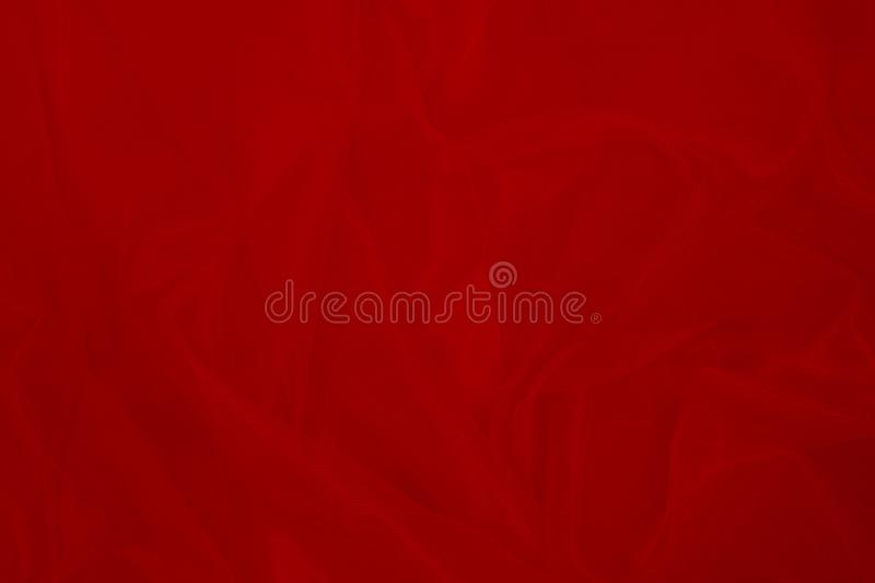 Red fabric texture background. Perfect as background for fashion blog posts and social media content stock photography