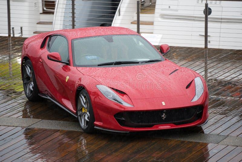 2018 Ferrari 812 Superfast stock photo