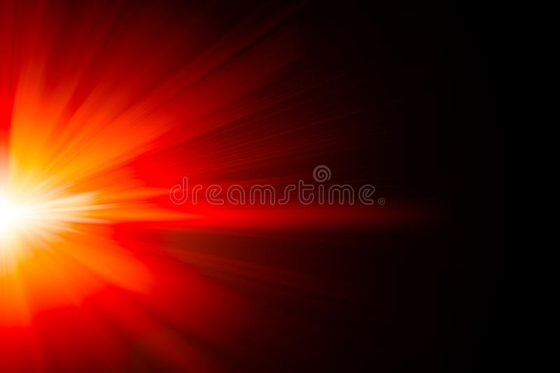 Red fire hot light glow zoom blur power abstract for background stock photography