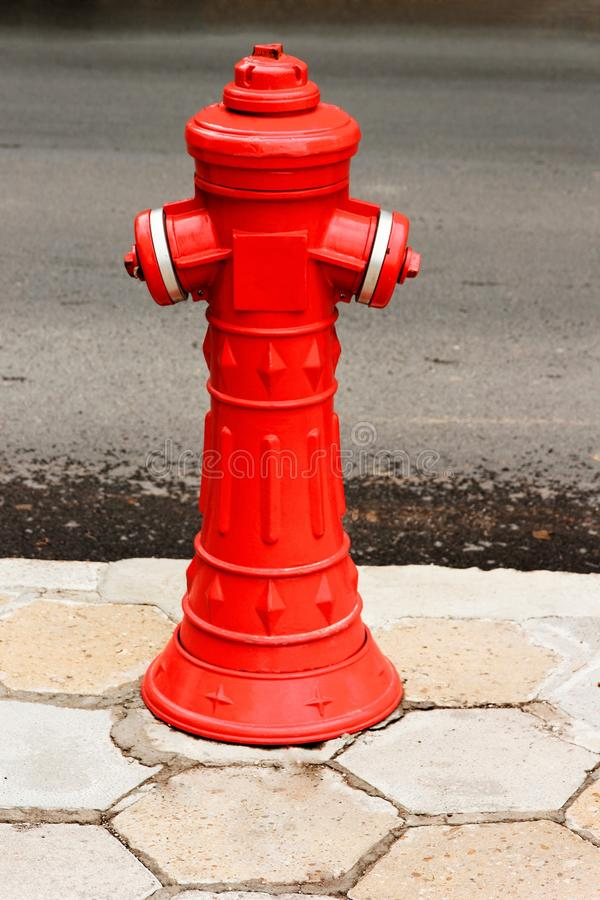 Download Red fire hydrant stock image. Image of white, life, clipping - 36880549