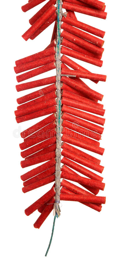 Free Red Firecrackers Royalty Free Stock Photo - 22614235