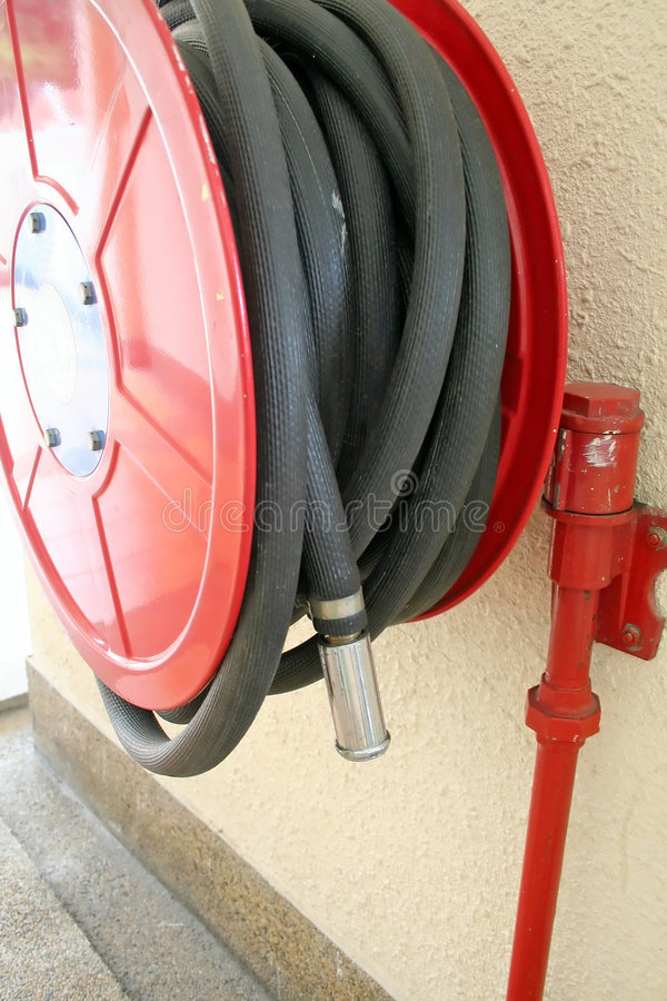 Free Red Firehose Stock Image - 2798891