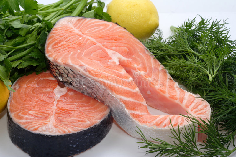 Download Red fish stock photo. Image of steak, trout, free, cholesterol - 8204388