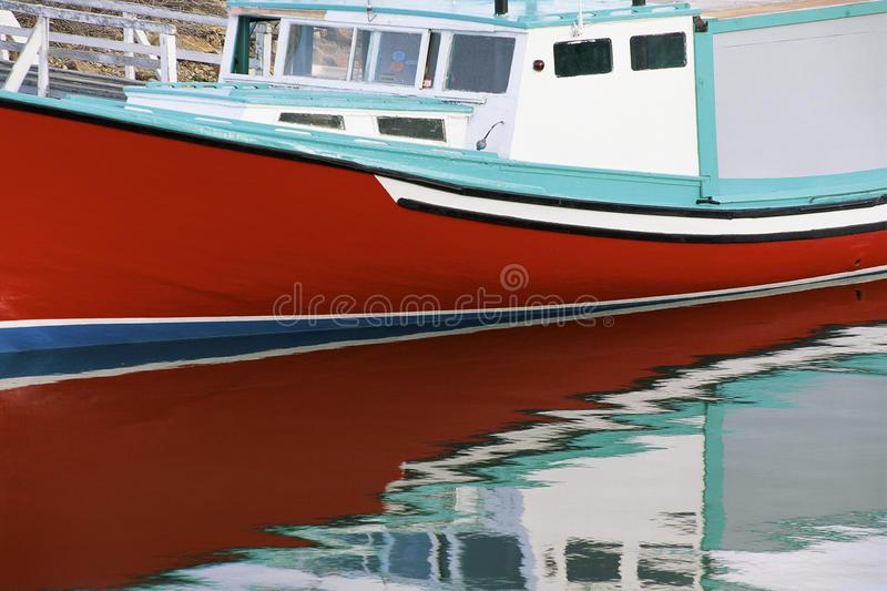 Download Red Fishing Boat stock photo. Image of photography, watercraft - 23147702