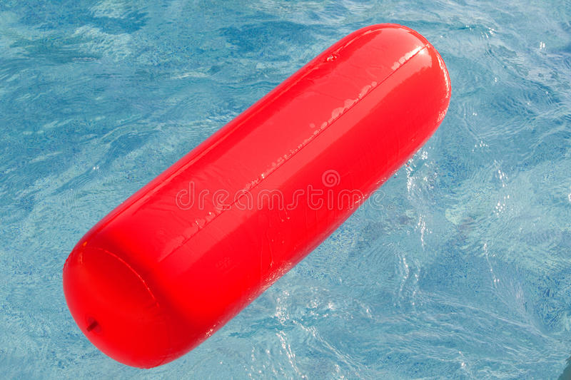 Download Red Float Floating In The Pool Stock Photo - Image: 20381300