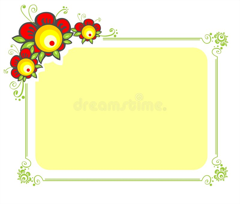 Download Red flowers stock illustration. Image of fantasy, freshness - 2302804