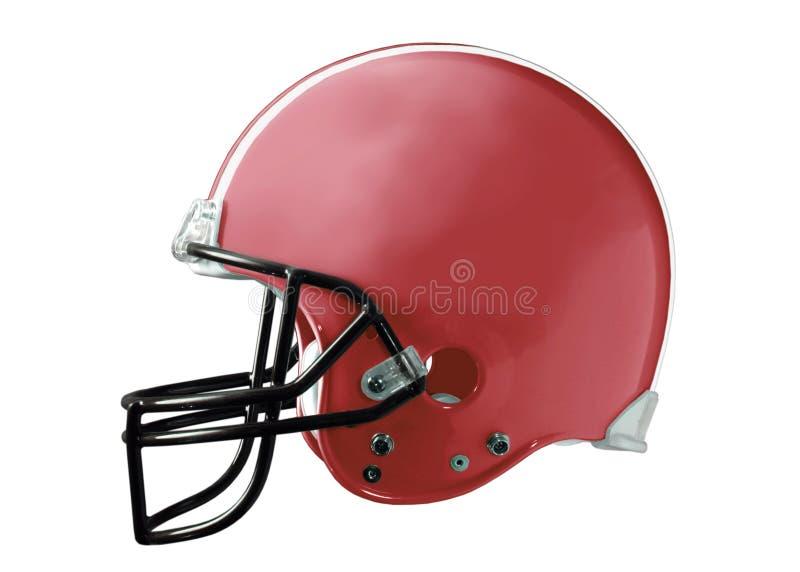 Red Football Helmet royalty free stock photos