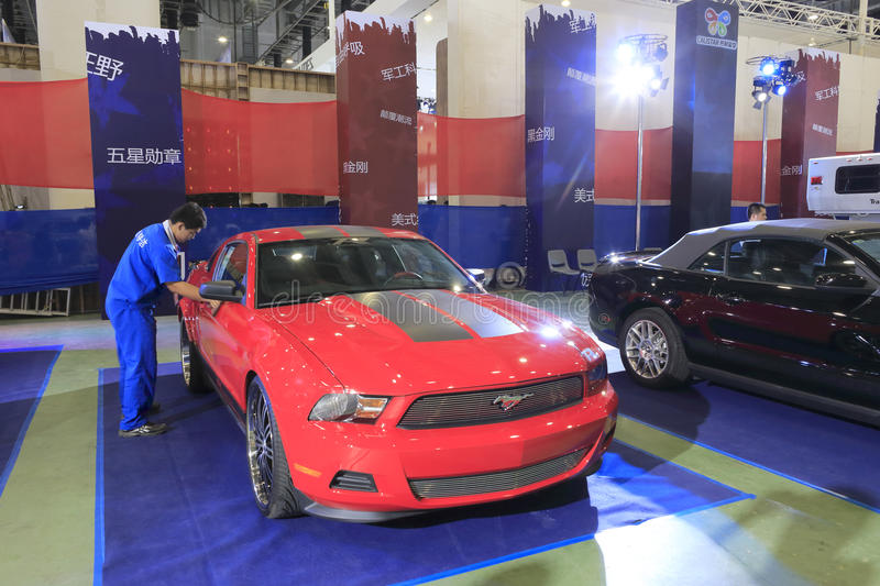 Download Red Ford Mustang  Car Editorial Image - Image: 32245825