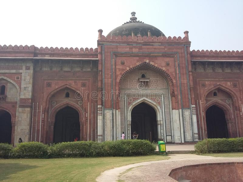 Red Fort royalty free stock photos