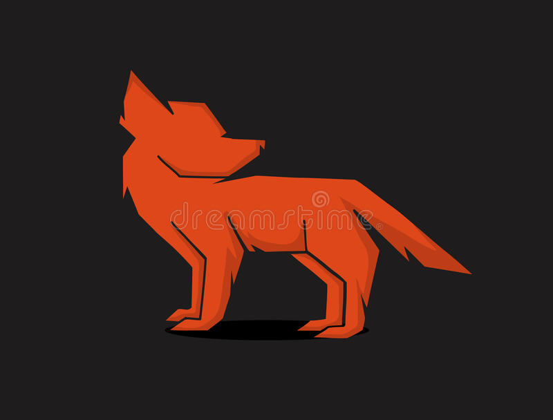 Download Red fox stock vector. Image of power, animals, symbol - 35412320