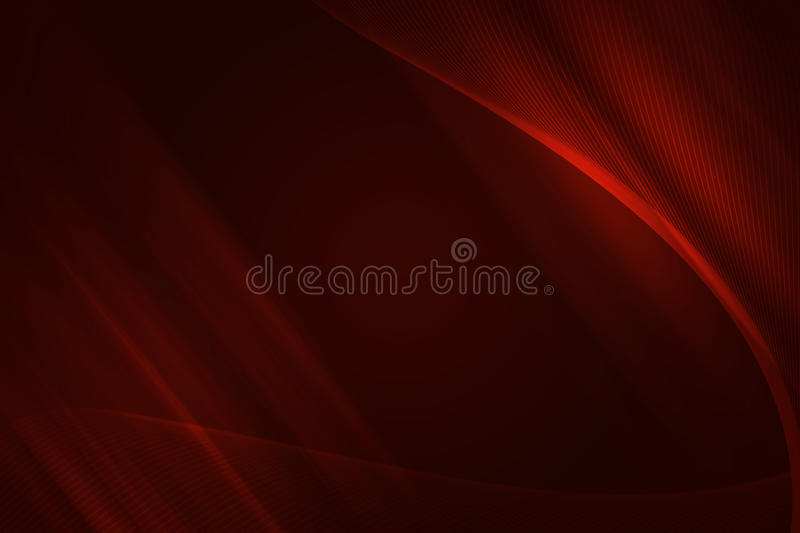Red fractal background. With net vector illustration