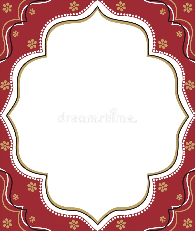 Free Red Frame Royalty Free Stock Photography - 2839597