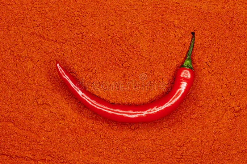 Red Fresh Chili Pepper Royalty Free Stock Photography