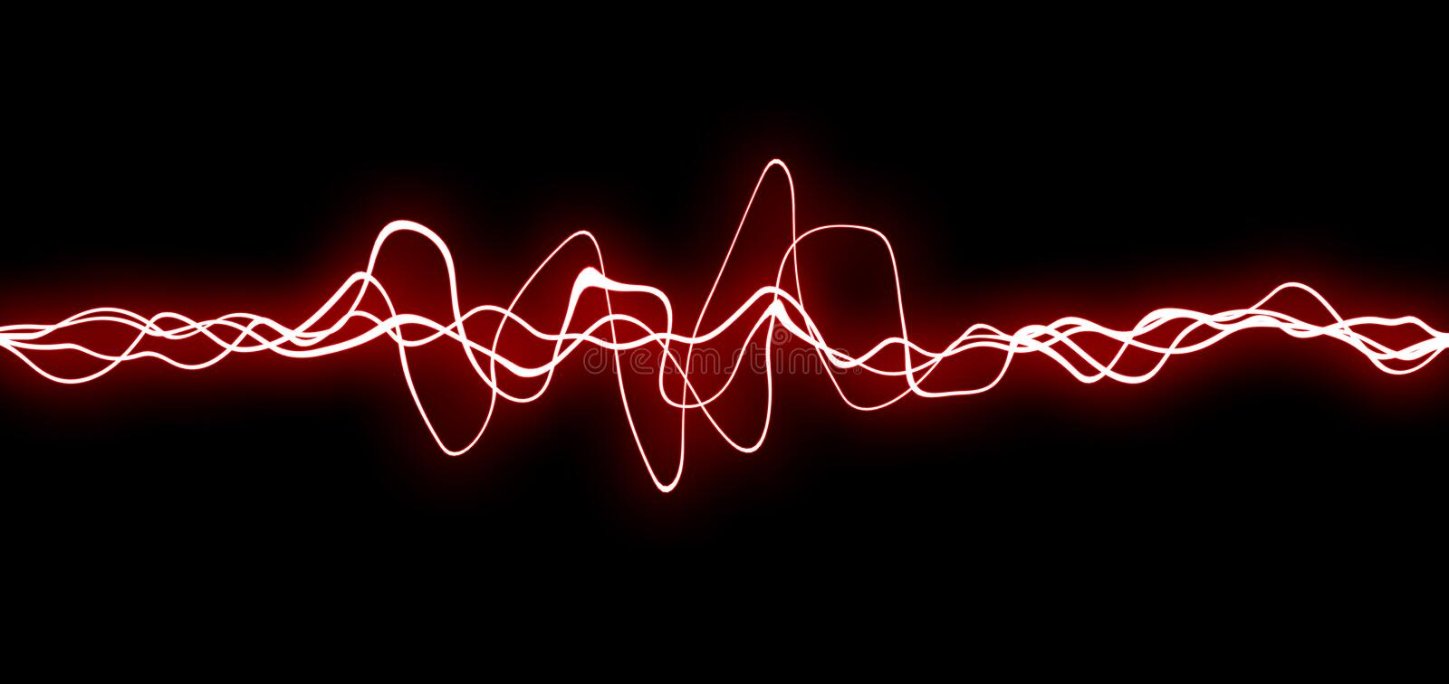 Red fx lines stock photography