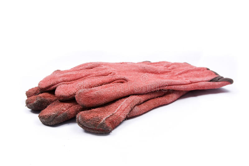 Download Red Gardeners Gloves stock image. Image of pair, home - 13644099