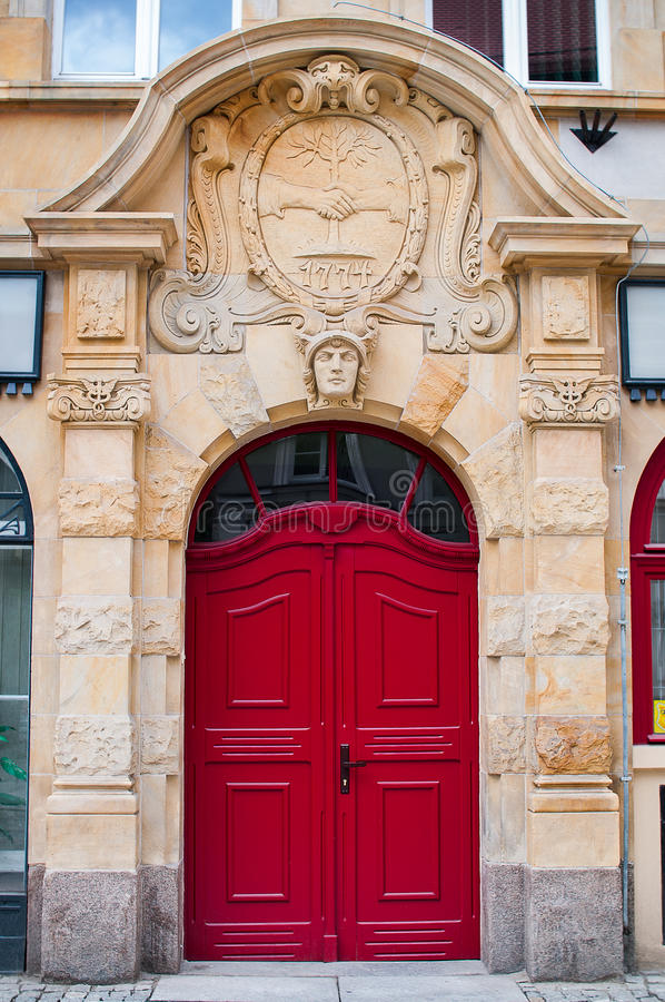 Red Gate, Wroclaw Poland Royalty Free Stock Image