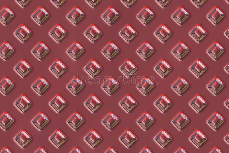 Red gems plate texture royalty free stock photography