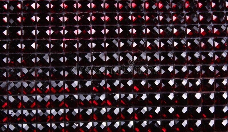 Red Gemstones Background