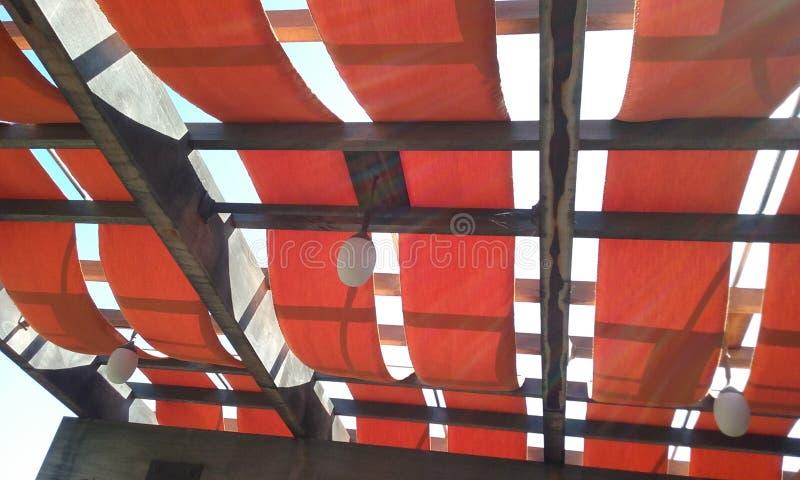 Red geometric royalty free stock photos