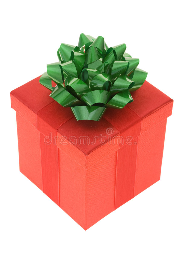 Red Gift royalty free stock photography