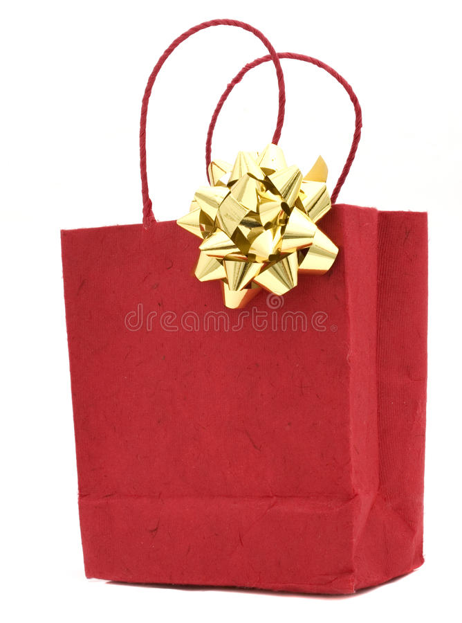 Free Red Gift Bag Royalty Free Stock Photo - 11397145