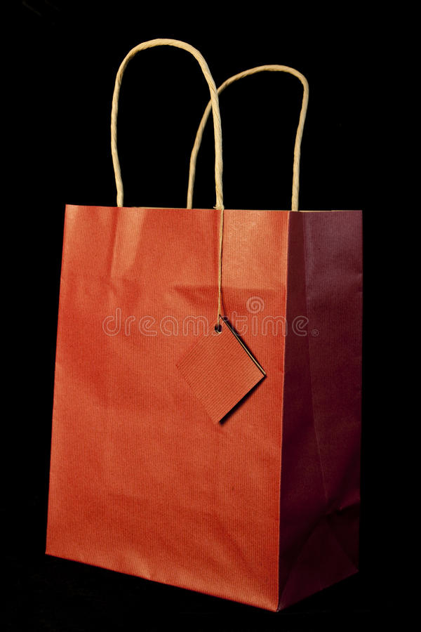 Free Red Gift Bag Royalty Free Stock Image - 17132556