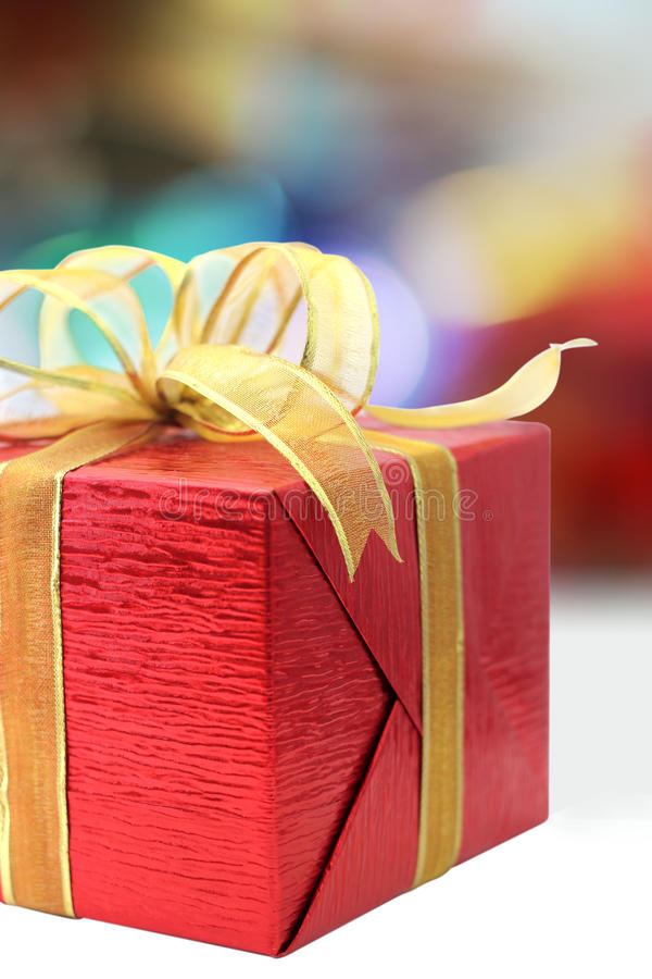 Download Red gift box stock photo. Image of paper, gift, ribbon - 21256888