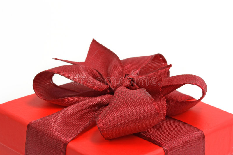 Download Red gift box stock photo. Image of valentine, decoration - 3003058