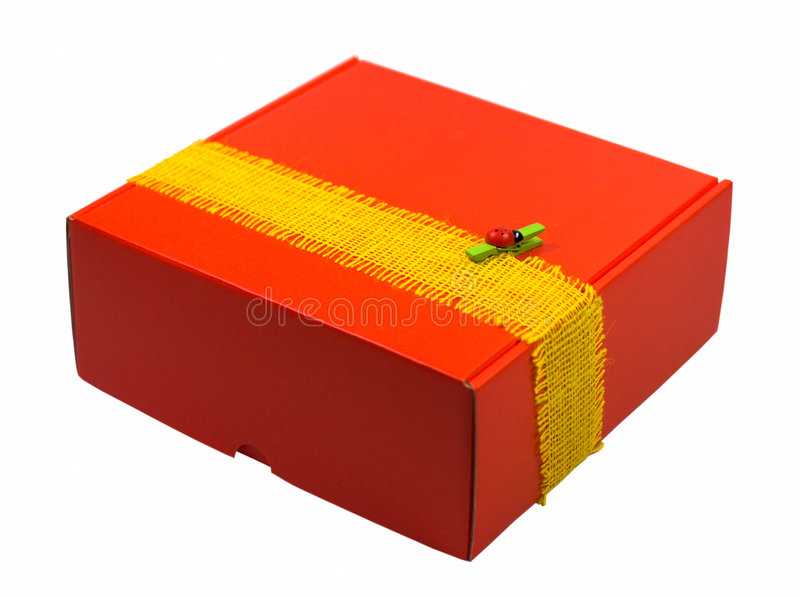 Download Red gift box stock image. Image of present, little, celebrate - 6947961