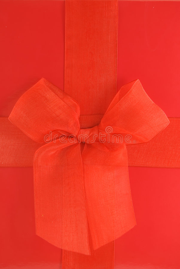 Download Red Gift Box stock image. Image of presents, give, ribbon - 7598283