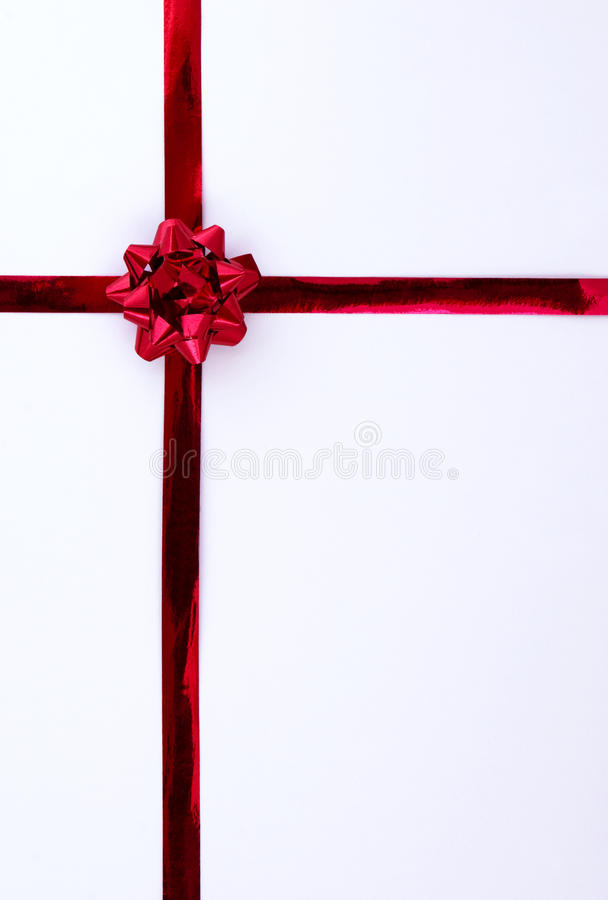 Download Red gift ribbon stock illustration. Image of illustration - 13448864