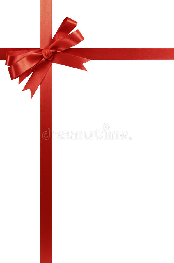 Red Gift Ribbon Bow Ve...
