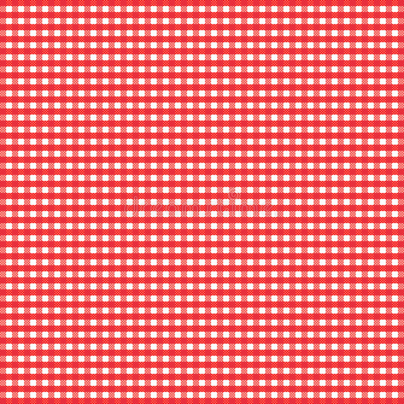 Free Red Gingham Royalty Free Stock Photo - 13381585