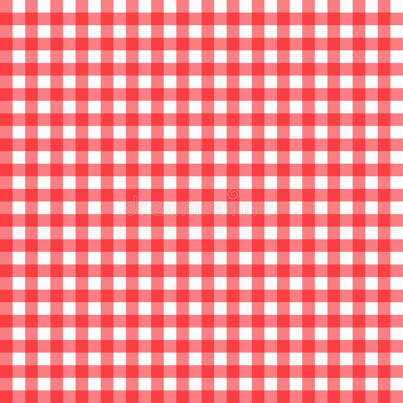 Free Red Gingham Stock Photo - 37763020